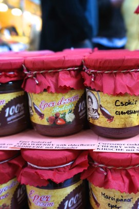 Budapest Central Market Hall Souvenirs Hungarian Peppers Preserves