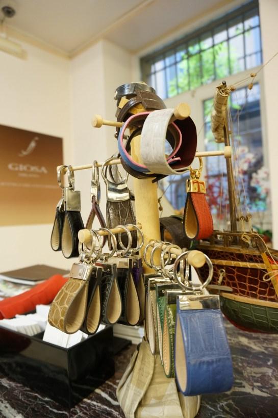alligator bracelet keychain giosa milan affordable
