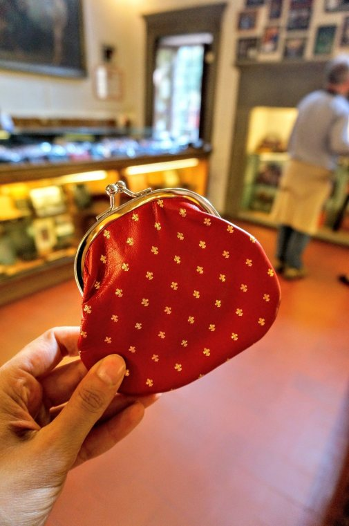 florence shopping leather wallet best photo