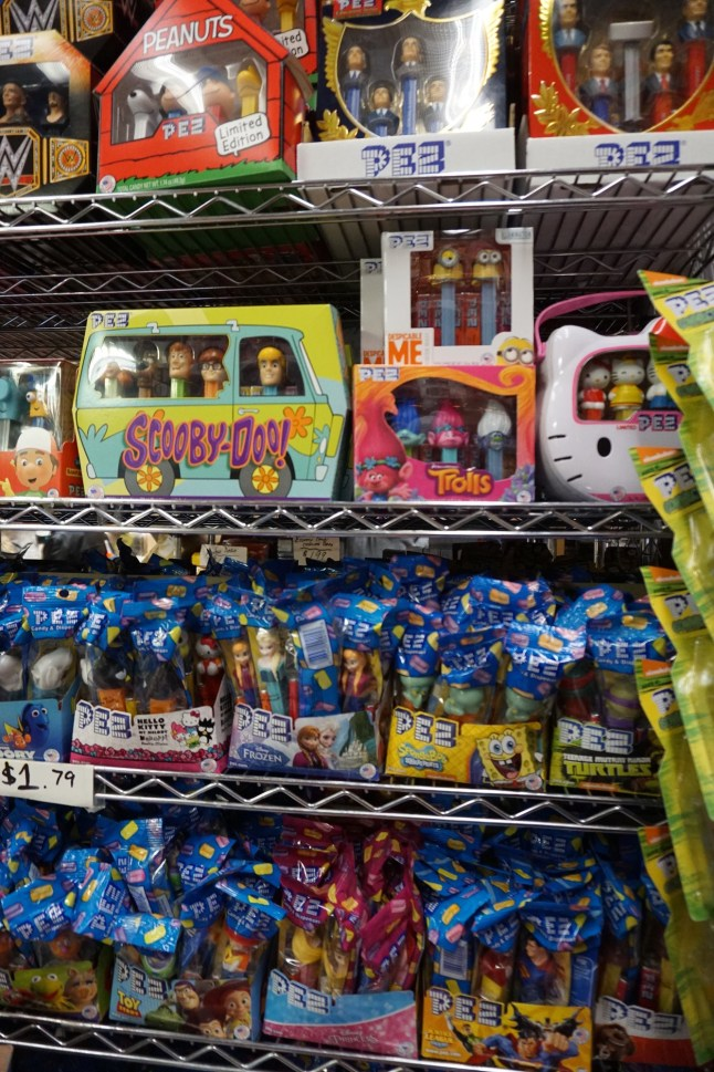 I did consider buying the Scooby Do pez set.