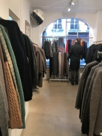 The men's sectio, outlet prices at L'Habilleur, Paris in the Haut Marais