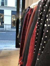 Shopping the Claudie Pierlot outlet in Paris.