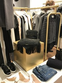 Even the accessories were gorgeous at the Claudie Pierlot outlet in Paris.
