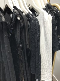Chic Parisian dresses at the Claudie Pierlot outlet in Paris