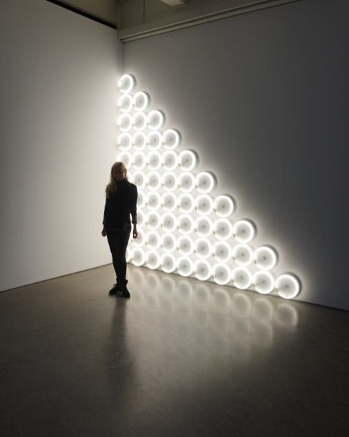 untitled (to a man, George McGovern) 2, 1972, Dan Flavin (DIA Beacon)