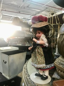 Vintage doll waiting to be loved.