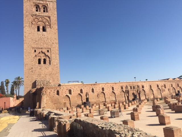 A mosque in Marrakech.