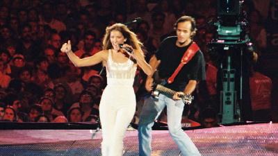 Céline Dion (Apparition de Jean-Jacques Goldman) - S'il suffisait d'aimer - Live 1999