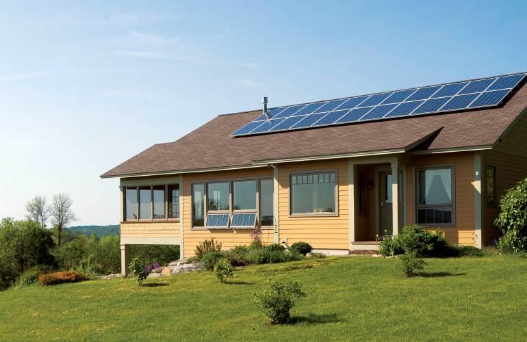 geração de energia solar