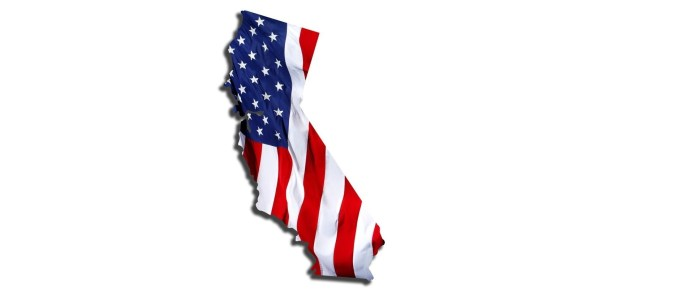 California Voter Registration - Top Ten Democrat Republican
