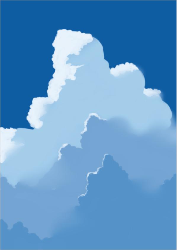雲の描き方24