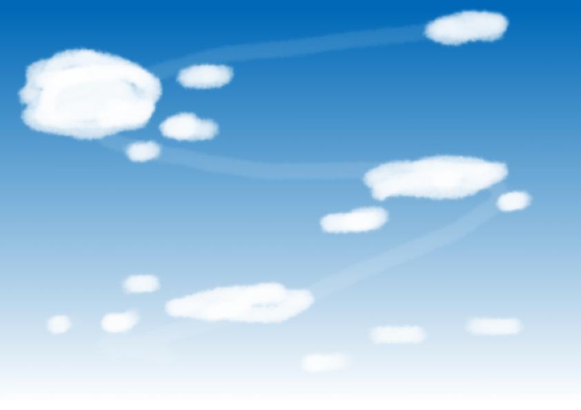 雲の基礎の描き方2