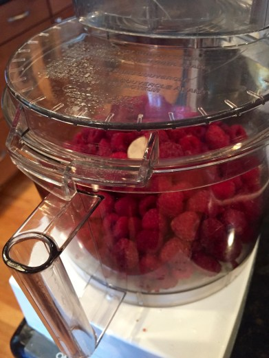 Raspberries ready for action