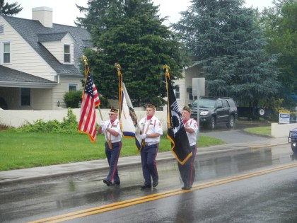 Color Guard leads the way