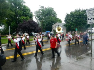 The Petersburg High Marching Band