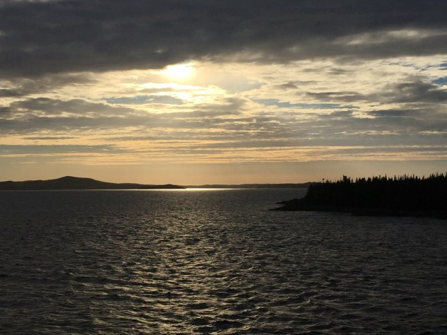 Approaching another beautiful sunset
