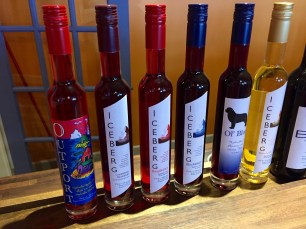 Ice wines with a twist...icebergs are used in the process