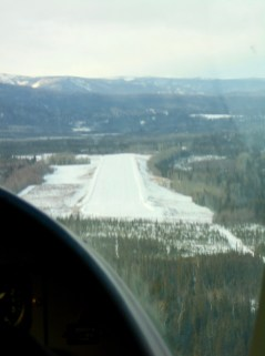 On short final in Eagle