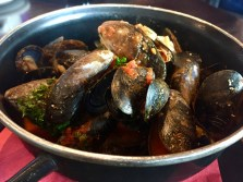 Mussels are a popular dish