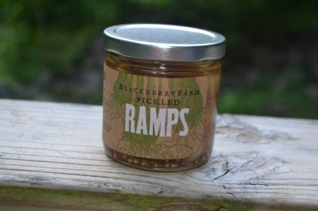 Pickled ramps, a first for me
