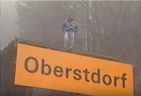 Vinko Bogataj returns to Oberstdorf in 1991