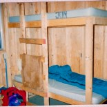 The bunks used to look like this