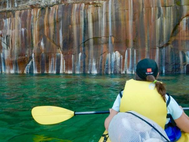 Beautiful scene at Painted Rocks