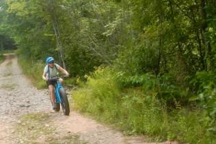 Fat tire bikes on Grand Island