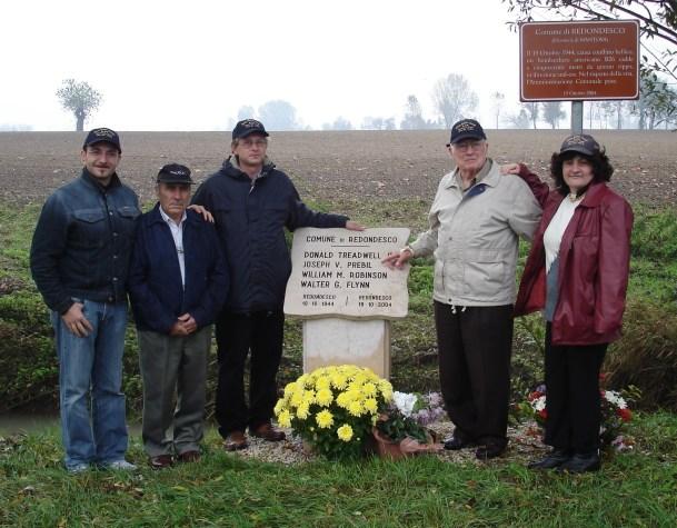 Carlo, Guido, Claudio, John, and Franca