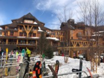 The village at Spruce Peak