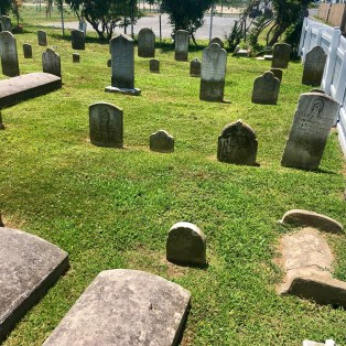 Swain Methodist Cemetery. Many graves here date to the mid-1800s
