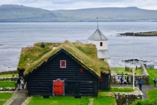 Kirkjubøargarður farmhouse
