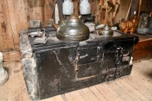 Old-style cooking in Kirkjubøargarður