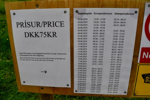 Many of the popular hikes charge for access now, although they all take credit cards (despite the remoteness)