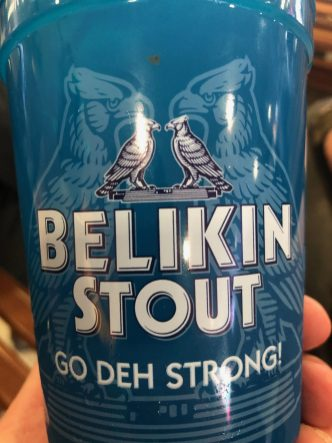 Go Deh Strong is the slogan for the stout
