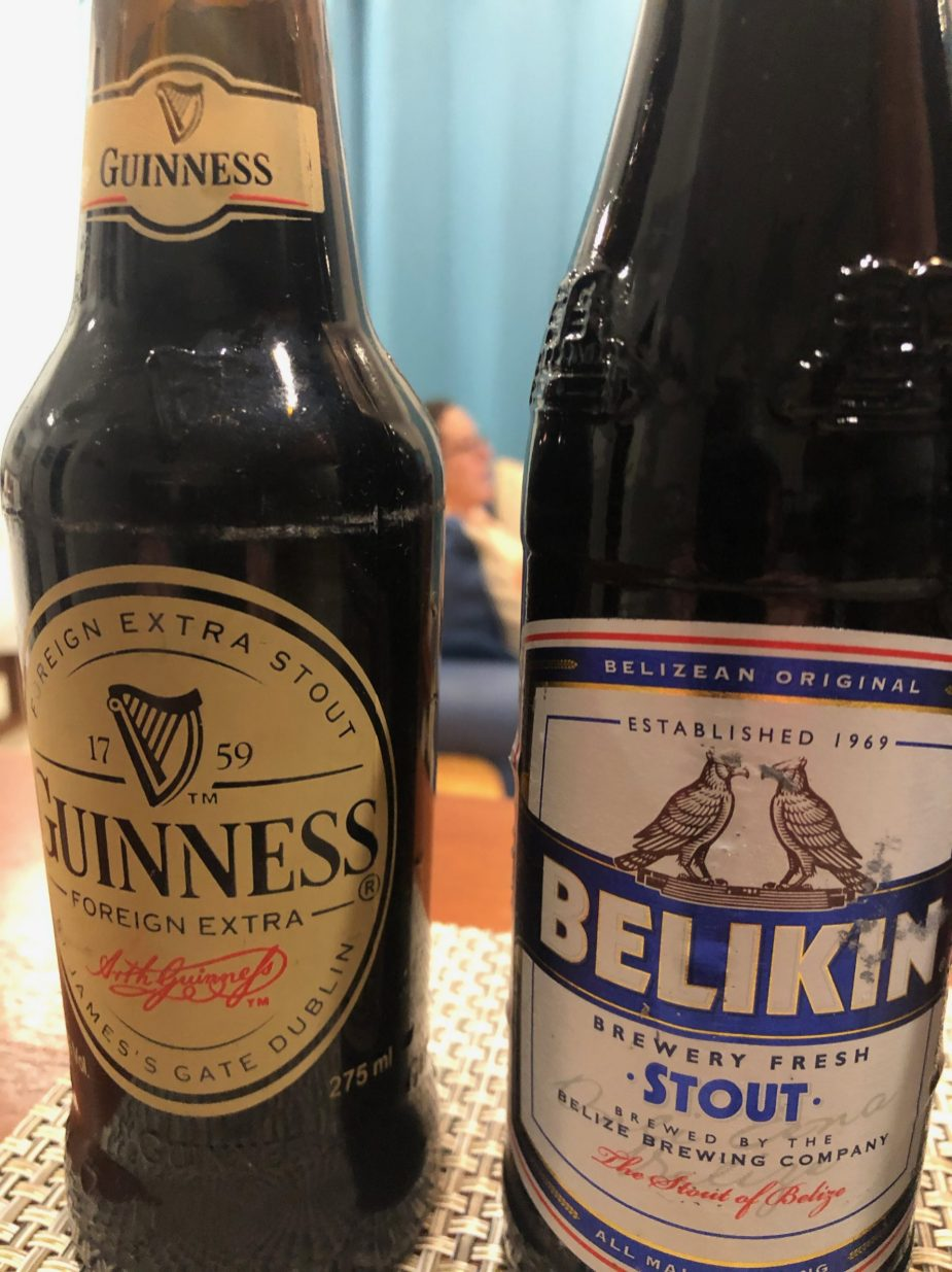 Both of these are brewed in Belize City