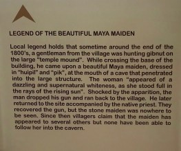 Legend of the Maya Maiden