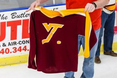 Still have my jersey. Photo by Bill Gerke