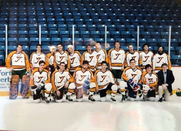 1987 VT Hockey Year 2 Team Pic