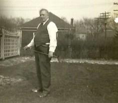 Suzy's grandfather, 1937