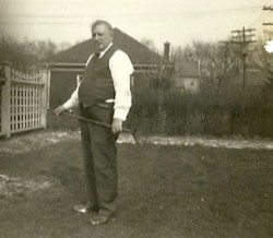 Suzy's grandfather, 1937