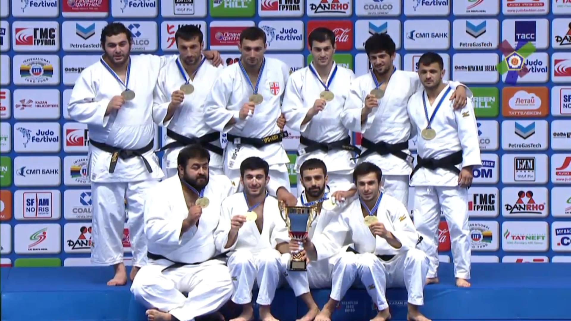 Грузинские дзюдоисты стали чемпионами Европы
