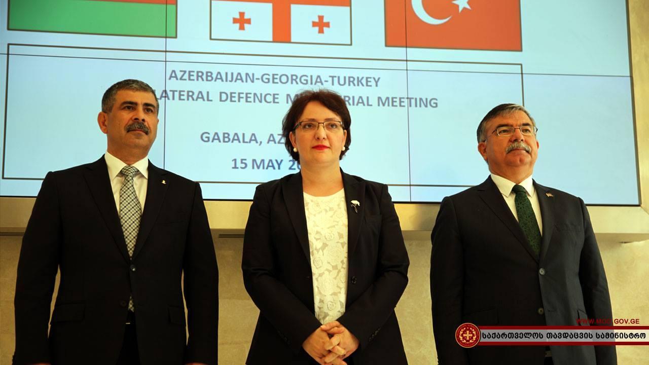 Грузия, Турция и Азербайджан проведут совместные военные учения