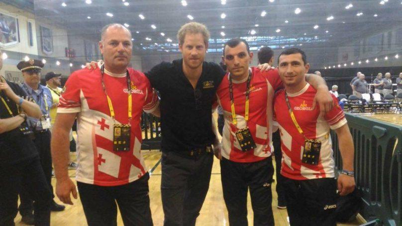 Сборная грузинских военных вышла в полуфинал волейбольного турнира в «Играх непобежденных-2016»