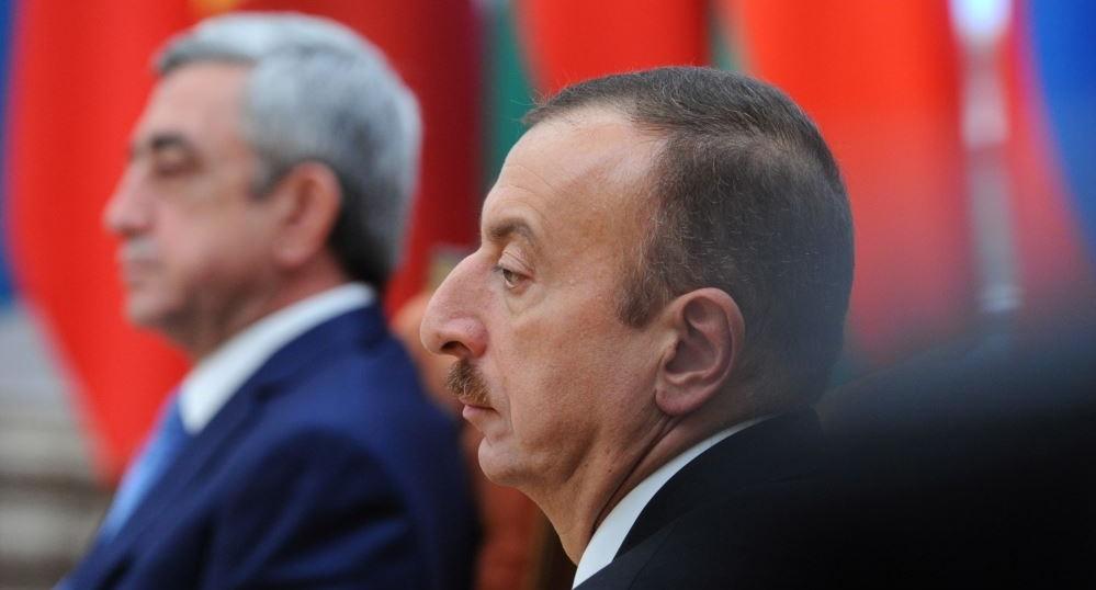 Ильхам Алиев и Серж Саргсян