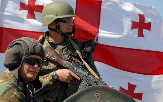 В Грузии начался прием на контрактную военную службу