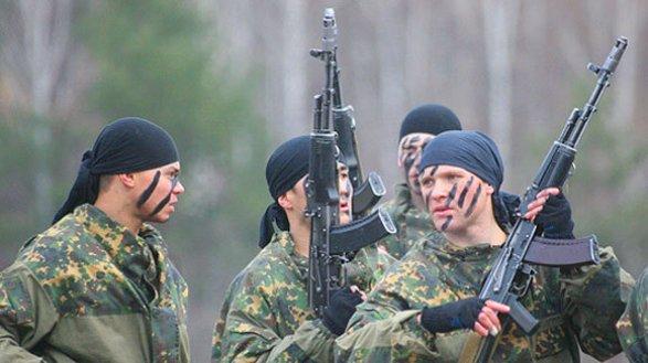 Российские военные провели боевые учения в Абхазии