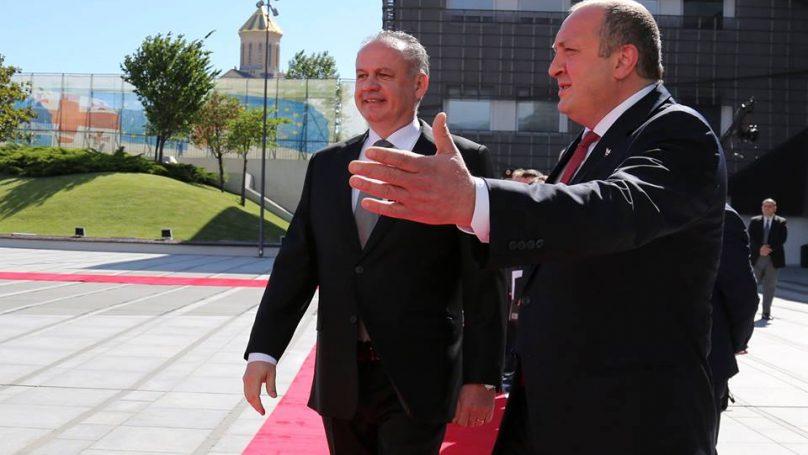 Президент Словакии Андрей Киска прибыл в Батуми