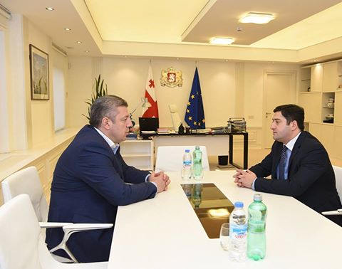 Премьер-министр Грузии провел встречу с председателем КСГ