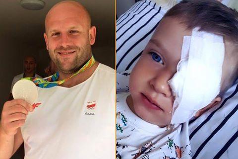 Олимпийский призер продал медаль, для спасения больного раком ребенка